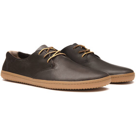 Vivobarefoot Ra II Leather Shoes Men dark brown